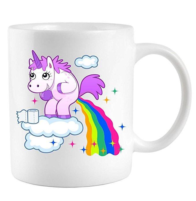 Mug (Tasse) licorne thermoréactif
