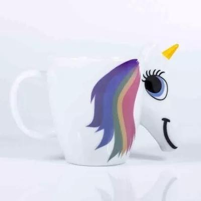 Mug Thermo-réactif en forme de licorne