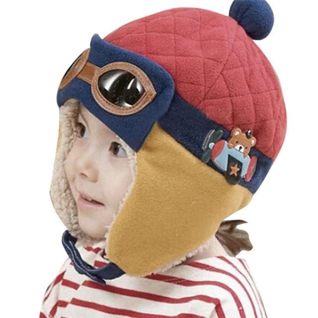 Bonnet avec cache-oreilles pour enfants